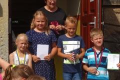 mögliche Preisträger von Morgen - die Besten aus der Klassenstufe 2
