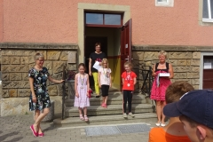 Sieger Mädchen Klasse 1