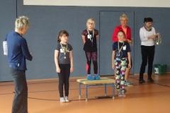 Sieger Mädchen Klassenstufe 3